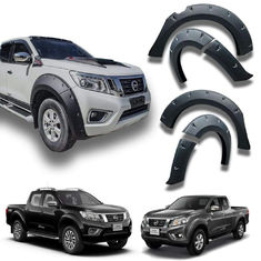 China 117*24*70cm Size Pickup Fender Flares , Custom Fender Flares For Navara NP300 factory