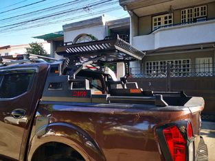 Textured Black 4X4 Sport Roll Bar For Toyota Hilux