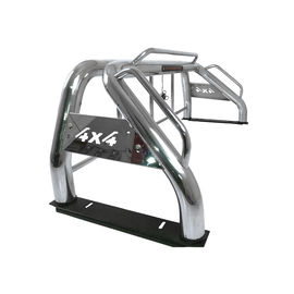 Dmax NP300 F150 Hilux Sport Bar , Custom Truck Roll Bars Steel Material