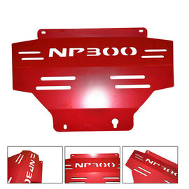 China 4X4 Steel Under Guard Truck Skid Plate For Nissan Navara Red Engine Protecting Cover factory