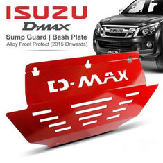 China Dmax Red Color Auto Skid Plate , Engine Protection Board For Pickup Truck factory