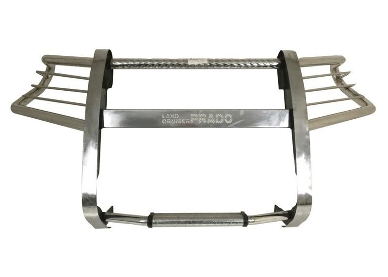 201 Stainless Steel Truck Bull Bar Front Bumper Silver For Land Cruiser