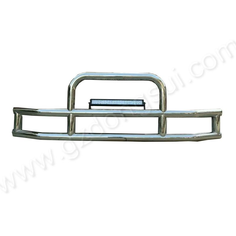 Silver Appearance Deer Guard For Volvo Trucks 1.8 - 2.0mm Tube Thickness supplier