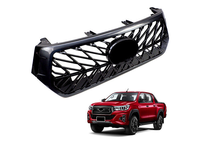 Durable ABS 4x4 Car Front Grill For Toyota Hilux Revo Rocco